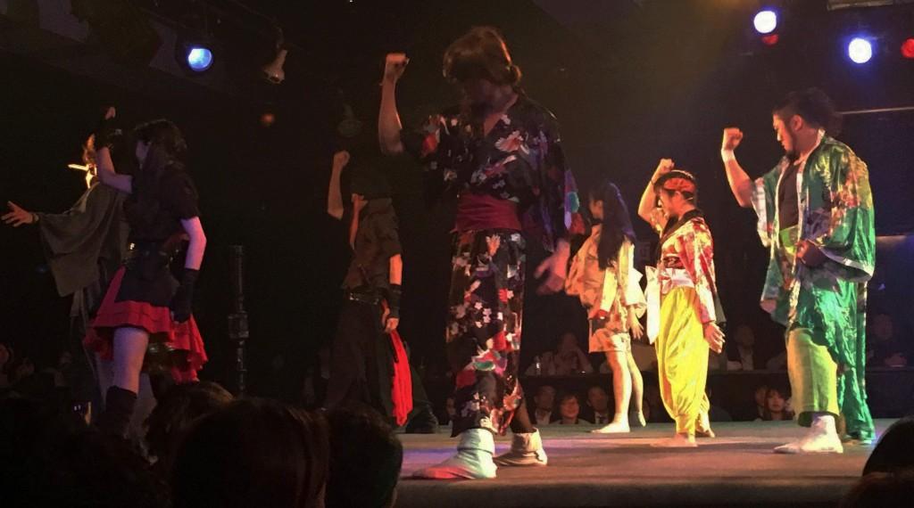 魔界衆たちの妖怪ダンス