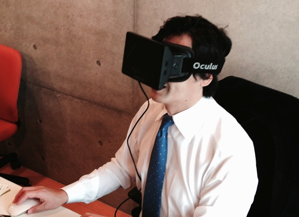 Oculus Rift workstyle