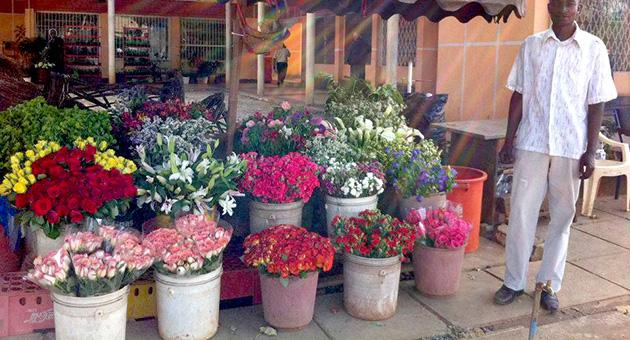 アフリカの花屋